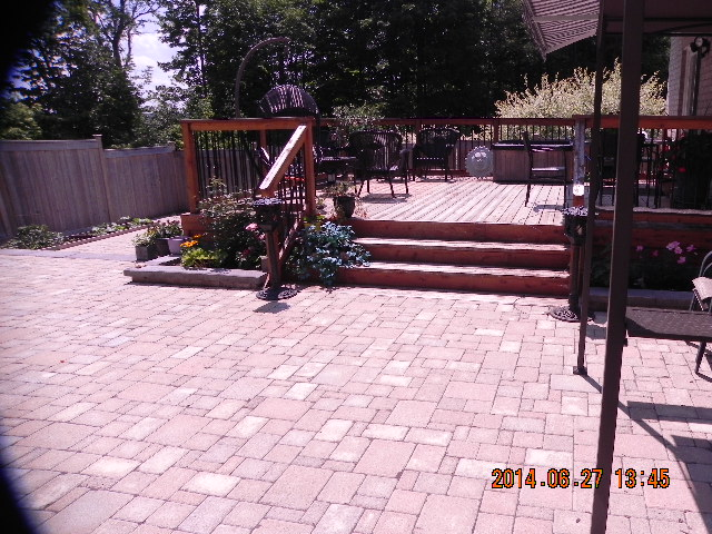 Backyard Park Interlocking