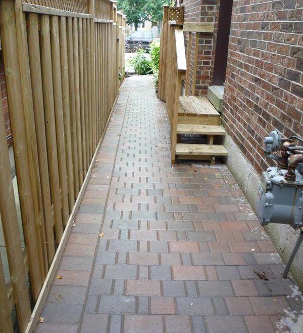 Interlocking Driveway Walkway