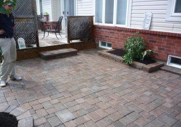 interlocking brick complete coverage