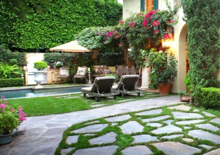 backyard landscaping ideas 57